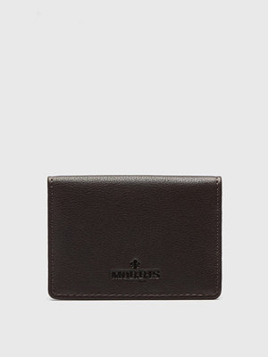 Morris Morris Cardholder Dark Brown