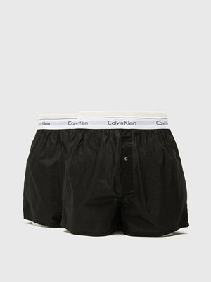 Calvin Klein Underwear 2-pack Boxer Modern Cotton Woven Black