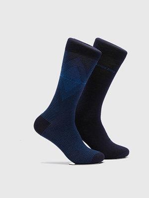 Strumpor - Hugo Boss 2-pack Socks 401 Navy