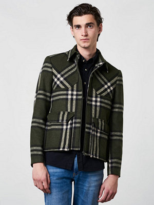 Castor by Castor Pollux Lumbarius Wool Blend Check