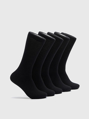 Strumpor - Björn Borg 5-Pack Noos Essential Sock 90011 Black