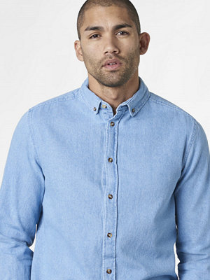 Studio Total Mason Denim Shirt Light Blue Wash