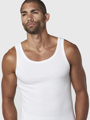 Studio Total Aron Rib Tank White