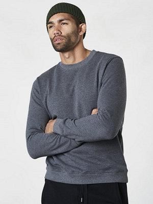 Studio Total Oliver Sweater Dk Grey Melange