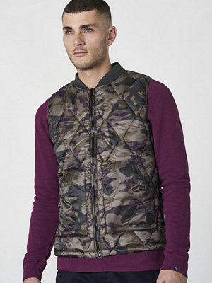 Dstrezzed Bodywarmer Dark Green Camo