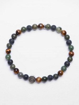 Smycken - Seven/East Bracelet M487B Green