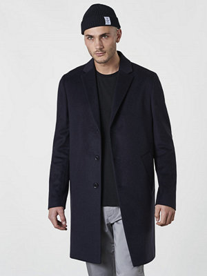 Velour by Nostalgi Corey Coat Navy