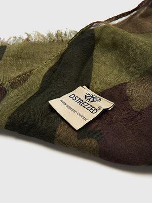 Halsdukar & scarves - Dstrezzed Camo Scarf Dark Green Camo