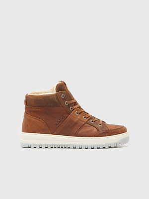 Sneakers & streetskor - Björn Borg Dave High Fur 2100 Tan