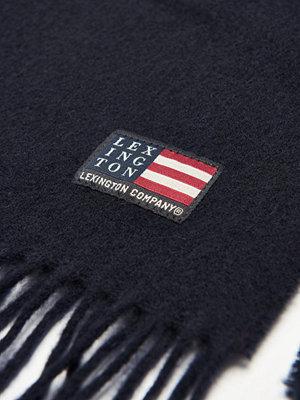 Halsdukar & scarves - Lexington Massachusetts Wool Scarf Deep Marine Blue