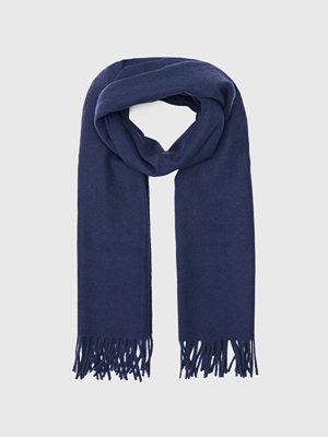 Halsdukar & scarves - Samsøe & Samsøe Efin Scarf Dark Sapphire