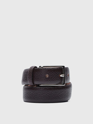 Bälten & skärp - Oscar Jacobson OJ Belt 15620 Dark Brown