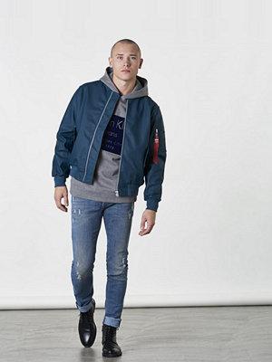 Calvin Klein Jeans Hayto 1 Hoddie Grey / Navy