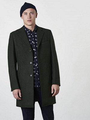Rockar - Knowledge Cotton Apparel Wool Coat 1207 Green