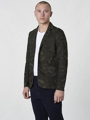 Kavajer & kostymer - Dstrezzed Jersey Blazer Dark Green Camo