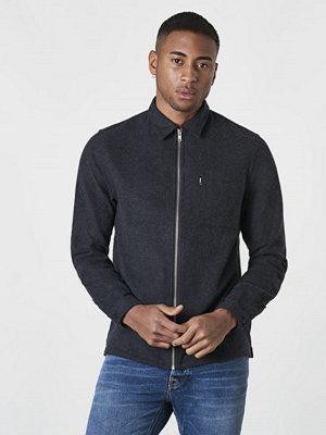 Skjortor - WESC Nicks Shirt jacket Black