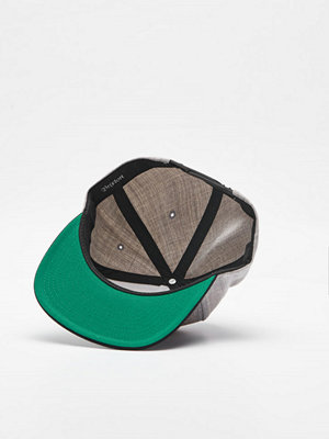 Brixton Obtuse Snapback Light Grey