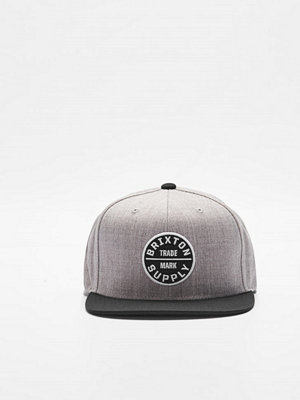 Brixton Oath III Snapback Heather Grey
