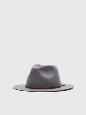Hattar - Brixton Wesley Fedora Light Grey