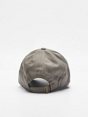 Mitchell & Ness Team Logo Low Pro Strapback Own Brand Olive
