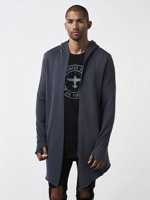 Adrian Hammond Hunter Sweat Cardigan Grey
