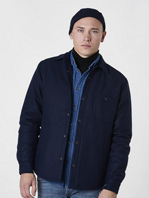 Woolrich Cavallery Shirt Jacket Navy