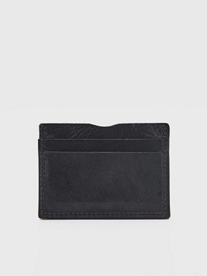 Plånböcker - Rage for Leather Carter Cardholder 0099 Black