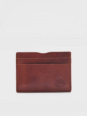 Plånböcker - Rage for Leather Carter Cardholder 0050 Brown
