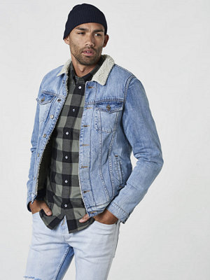 Jeansjackor - Just Junkies Rolf Fur Supply Blue