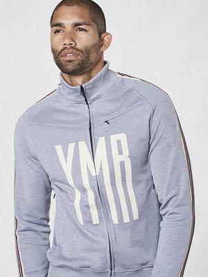 YMR Track Club Street Track Jacket Grey Melange