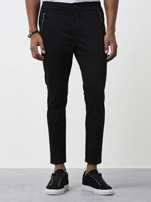 Byxor - Adrian Hammond Maddox Trousers Black