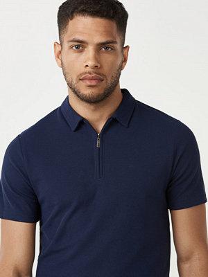 Pikétröjor - Studio Total Manuel Polo Shirt Dk Navy