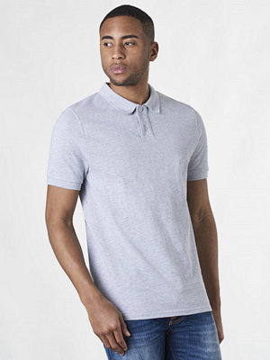 Pikétröjor - Studio Total Rasmus Polo Shirt Grey Melange