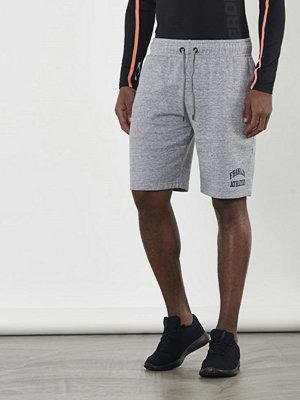Shorts & kortbyxor - Franklin & Marshall Basic Wash Short Sport Greymelange