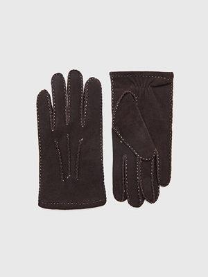 Handskar & vantar - Amanda Christensen Gents Glove Suede Brown