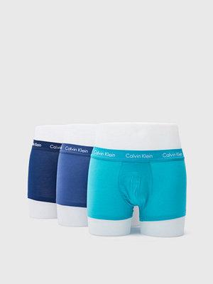 Kalsonger - Calvin Klein Underwear Cotton Stretch 3-Pack Trunk RWT Magestic/Catalan/Placid