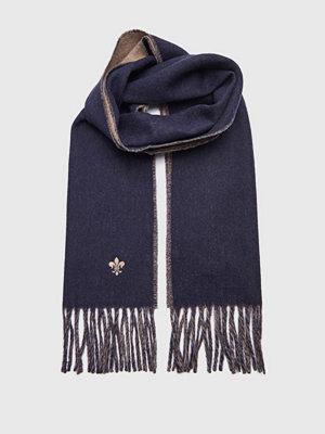 Halsdukar & scarves - Morris Morris Doubleface Scarf 60 Blue