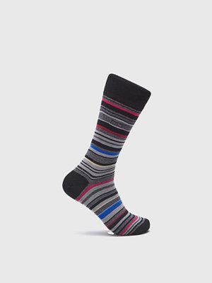 Strumpor - Calvin Klein Underwear Barcode Multistripe Sock HT1 Blue