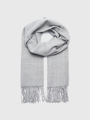 Halsdukar & scarves - Studio Total Leonardo Scarf Lt Grey Melange