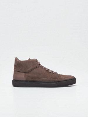 Sneakers & streetskor - Jim Rickey Crown Mid Suede Mud Brown