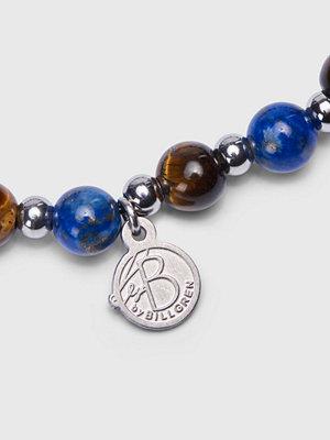 by Billgren Tigers eye Bracelet 8140 Brown/Blue