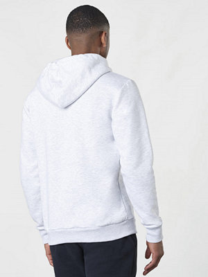 Street & luvtröjor - Les Deux French Hoodie Zip Snow