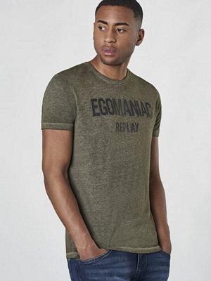 T-shirts - Replay RBJ Egomanicac Dark Olive