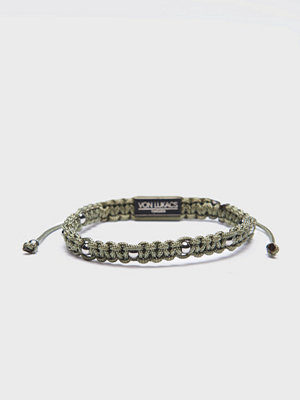 Smycken - Von Lukacs Tsar Military Green/White Gold