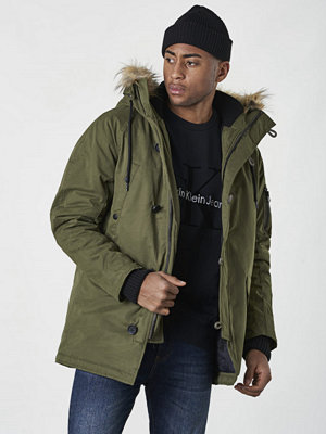 Replay RBJ Parka Army Green