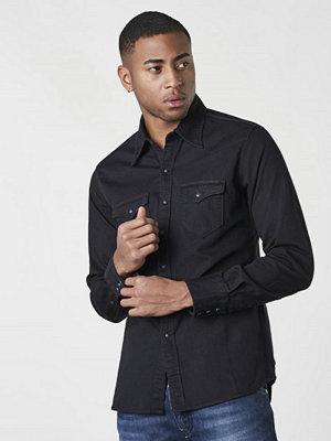 Skjortor - Replay RBJ Denim Shirt Black