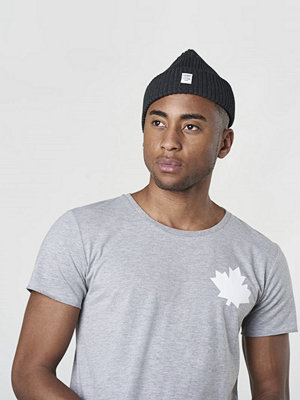T-shirts - Proud Canadian Leaf Cheast Tee Greymelange