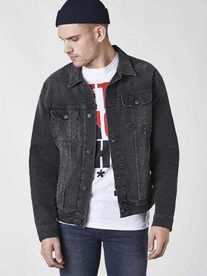 Jeansjackor - Lee Overzised Rider Jacket Punk De Luxe