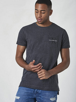 Calvin Klein Jeans Bolan Regular Tee Dark Grey