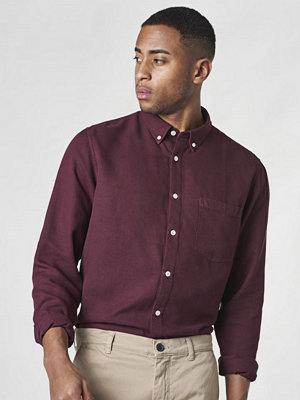 NN07 Falk 5408 Shirt Oxblood Red